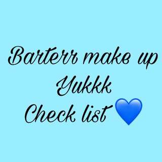 Barter make up