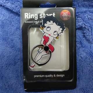 全新Betty Boop指環扣