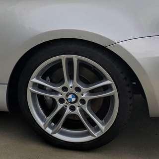 BMW M-sport 261 wheels 135i
