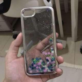 iPhone 7 glitter casing