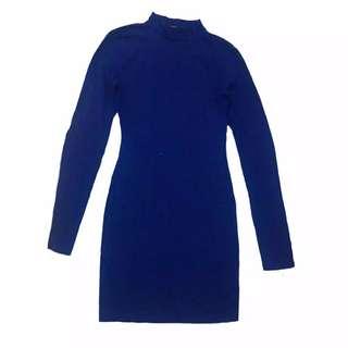 F21 long sleeves mini dress