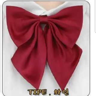 Japanese sailor uniform bow tie