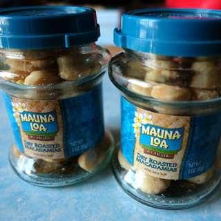 100%NEW MAUNA LOA Macadamia Nuts Jar