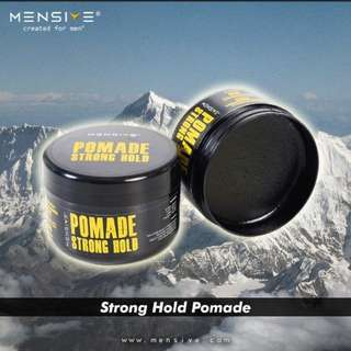 MENSIVE Pomade Strong Hold - 150gm