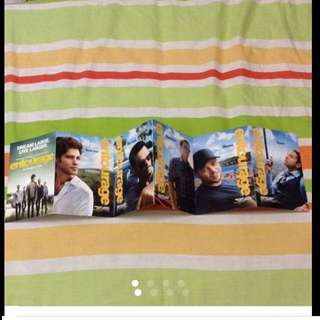 6 Limited Edition Entourage Collectible Postcards from Hollywood  ( New)