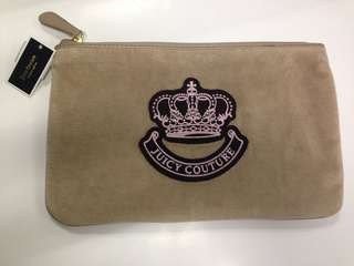 Authentic Juicy Couture Oversized Pouch