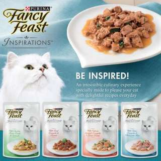 Fancy Feast Inspiration Cat Food 70g, 12 packs