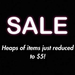 •$5 SALE•