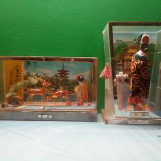 Japanese glass display