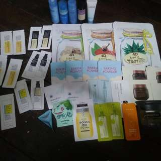 Korean products (sold as one)