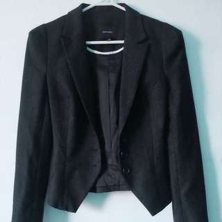 PORTMANS - Size 6 Dark grey women's blazer