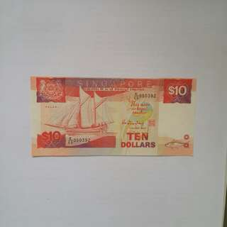 Unusual  $10/= Note
