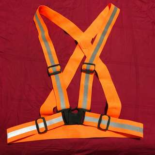 Safety vest belt