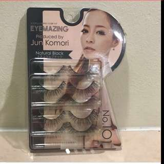 $23.90 Eyemazing Fake Eyelashes from Japan : Natural Black ( Brand New with Price Tag)