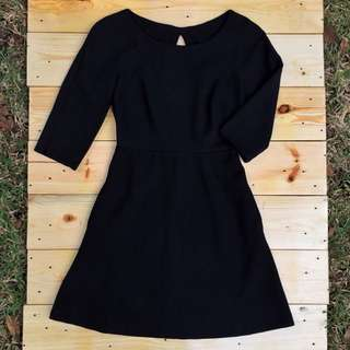 Zara TRF Little Black Dress
