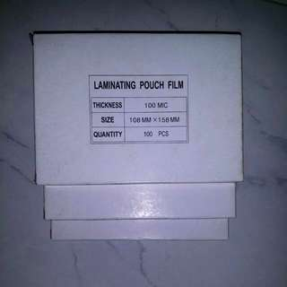 Stock Clearance -Laminating Pouch Film