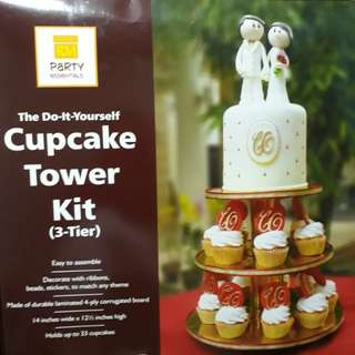 DIY Cupcake Tower Kit - Almost new!