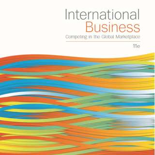 International Business - Competing in the global marketplace 11e MGF2351