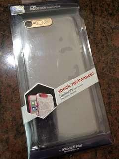 iPhone 6+ 6 plus flashing LED case 閃燈 閃光 包邊 保護殼