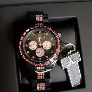 TW ladies watch with Swarovski elements