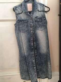 Freshgear denim dress/top