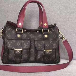 LV Manhattan Shoulder Bag
