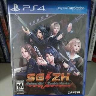 PS4 - School Girl Zombie Hunter
