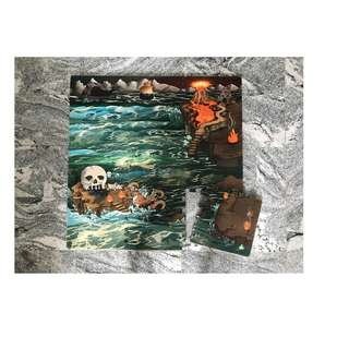 ELC Puzzle Playmat in Pirates Theme