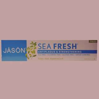 Jason Natural, Sea Fresh, Antiplaque & Strengthening Paste, Deep Sea Spearmint