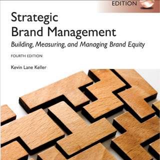 Strategic Brand Management - Building, measuring & managing brand equity 4e MKF2521