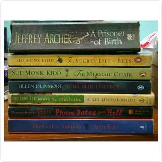 Assorted / Best seller books