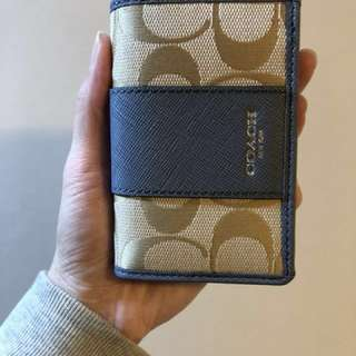 全新 Coach Name Card Case/Coach 卡片套《包順豐》