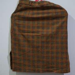Skirt - brown skirt pencil