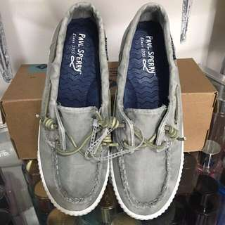 Sperry Top-Sider Paul Sperry Sayel Away Washed Canvas Sneakers