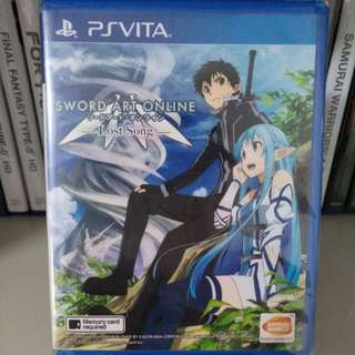 PS Vita - Sword Art Online: Lost Song