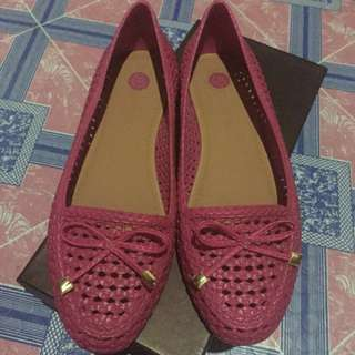 Authentic grendha pink shoes size 7