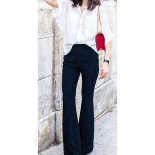 Cristina Effe Made in Italy stylish Bell bottom trousers