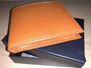 全新 Ralph Lauren Wallet 銀包 (淺啡色)《包順豐》