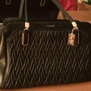 New Authentic Leather COACH Handbag
