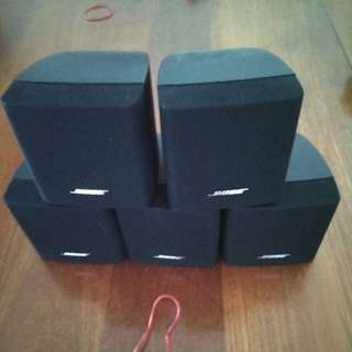 5 pc Bose single cubes ONLY