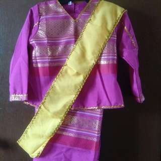 Malaysian costume for sale