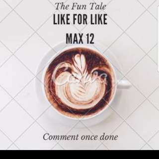 Likes for Likes Max 12