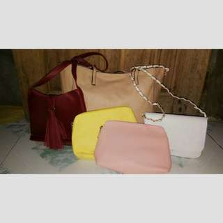 Assorted Bags (Get all for 1,400php only)