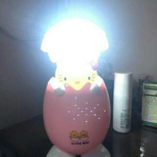 Kitty table chargeable big lamp P380