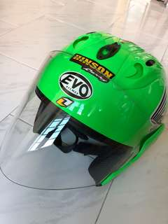 Evo helmet (better than SMX)