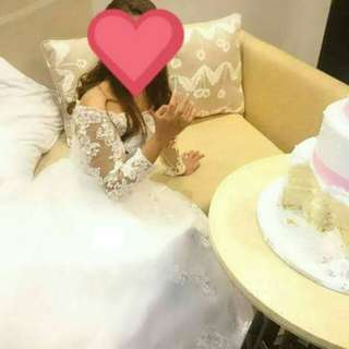 Preloved Wedding Gown from Dubai