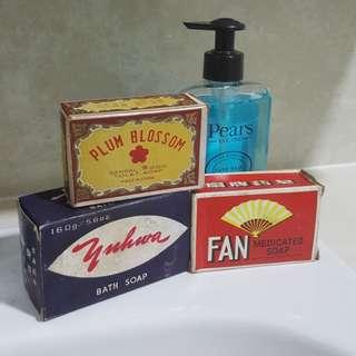 Vintage bar soaps