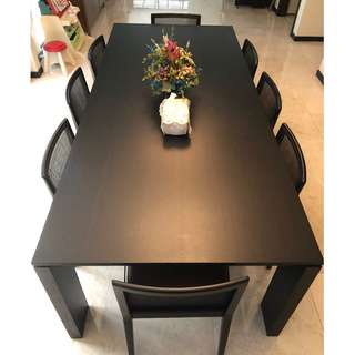 RARE Porada Kevin Large Extendable Dining Table