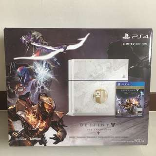 Used Limited Edition PS4 + Camera + Games