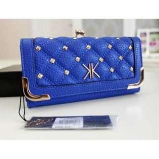 KARDASHIAN Kollection Original Blue Wallet EASTER SALE !!!